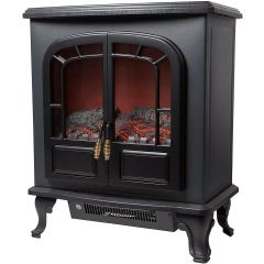 Warmlite WL46019 Wingham 2Kw Stove With Led Log Fire Effect