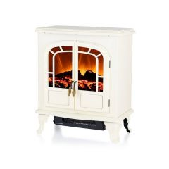 Warmlite WL46019C Wingham 2Kw Electric Stove With Led Log Fire Effect