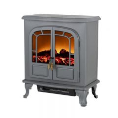 Warmlite WL46019G Wingham 2Kw Electric Double Door Fire Stove