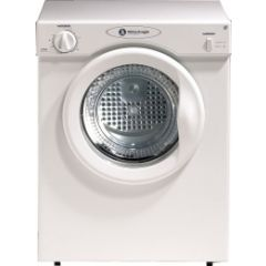 White Knight WK37AW Vented 3kg Tumble Dryer - Uni Direction with 2 Heat Settings