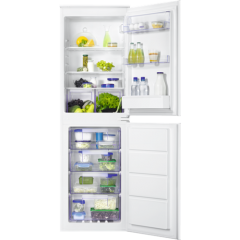 Zanussi ZBB27640SV Built In Fridge Freezer With Slide Door