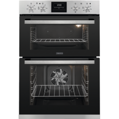 Zanussi ZOA35660XK Built in Double Electric Oven in Stainless Steel