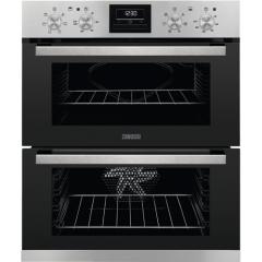 Zanussi ZOF35661XK Built Under Electric Double Oven With Set + Go