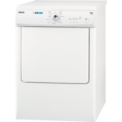 Zanussi ZTE7101PZ 7Kg Vented Dryer with venting options